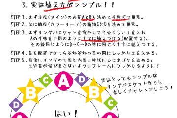 """""""リングバスケット作り虎の巻"""" 公開!!"""