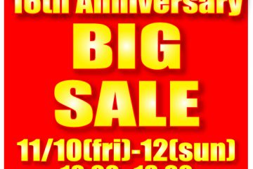 16th Anniversary BIG SALE!!